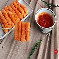 Bánh Gạo hàn Quốc Nhân Phô Mai ( topokki ) 500g