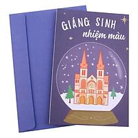 Thiệp Giáng Sinh Nhiệm Màu MAISEN