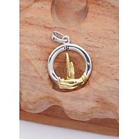 Dây Chuyền Mặt Bàn Tay Niệm Phật Giáo M1821 Bảo Ngọc Jewelry