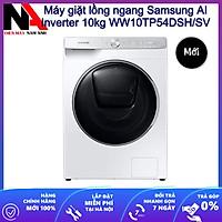 Máy giặt lồng ngang Samsung AI Inverter 10kg WW10TP54DSH/SV - Hàng chính hãng