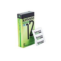 Bao cao su Kimono 0.03 12 bao / hộp - Siêu Mỏng và Kéo dài thời gian quan hệ