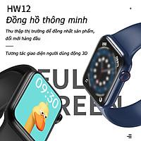 Đồng Hồ Thông Minh HW12 - Thay Được Hình Nền Tùy Ý , Nút Xoay Digital Crown, Pin Dung Lượng Cao Dùng Tới 5 Ngày