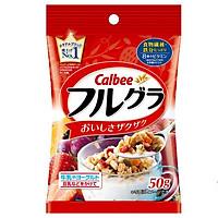 Combo 2 gói Ngũ cốc Calbee vị Trái cây gói đỏ gói nhỏ 50gr
