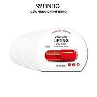 Combo 10 Mặt Nạ Nâng Cơ Mặt BNBG Vita Genic LIFTING Jelly Mask 30mlx10