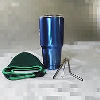 BÌNH GIỮ NHIỆT THÁI LAN 900ml + Combo túi đựng + 2 ống hút + cọ vệ sinh ống hút