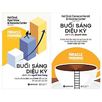 Combo Sách Marketing - Bán Hàng :  Buổi Sáng Diệu Kỳ Dành Cho Người Bán Hàng +  Buổi Sáng Diệu Kỳ Dành Cho Doanh Nhân