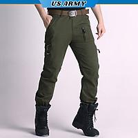 Quần Túi Hộp Nam Lính Mỹ US ARMY U768 Cao Cấp, Chất Liệu Vải Kaki,Bền Màu, Ống Rộng Phong Cách, Thiết kế Túi Hộp- HÀNG CHÍNH HÃNG