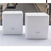 Bộ 2 Cái Phát Wifi Dạng Lưới Mesh Tenda Nova MW3 AC1200 Tặng 4m Dây Mạng Cat5 Lõi Đồng 8 Sợi - Hàng Chính Hãng