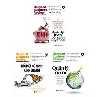 Combo Harvard Business Review Quản Lý Xuyên Khủng Hoảng: Cải Tiến Mô Hình Kinh Doanh + Quản Lý Trong Bối Cảnh Suy Thoái + Quản Lý Rủi Ro