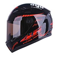 Mũ bảo hiểm Đẹp Moto Fullface Tem 14 Bóng _ Mũ Bảo Hiểm Phượt Fullface AGU có kính chắn gió, chống nắng, chông chói_ Nhiều màu