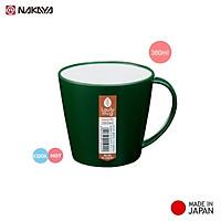 Ly nhựa cách nhiệt giả sứ Laulu Mug 360ml hàng nội địa Nhật Bản (Made in Japan)