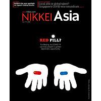 Nikkei Asian Review: Nikkei Asia - RED PILL? - 44.20, tạp chí kinh tế nước ngoài, nhập khẩu từ Singapore