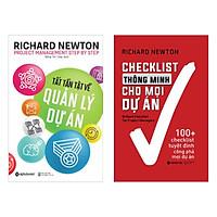 Combo Sách kinh Tế : Tất Tần Tật Về Quản Lý Dự Án + Checklist Thông Minh Cho Mọi Dự Án ( Tặng kèm Bookmark Green Life)
