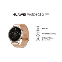 Đồng hồ thông minh HUAWEI Watch GT2 (42mm) | Kirin A1| Thời lượng pin dài| Kiểu dáng thể thao thời thượng | Hàng Chính Hãng