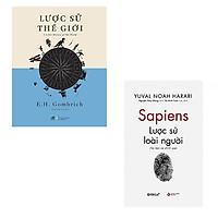 Bộ 2 cuốn sách tìm hiểu về lịch sử: Lược Sử Thế Giới - Lược Sử Loài Người