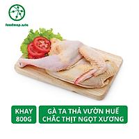 Gà Ta Thả Vườn Huế Chắc Thịt, Ngọt Xương - Khay Nửa Con, 800g - Foodmap