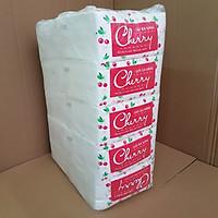 Cây (10 bịch) khăn giấy rút đa năng Cherry cao cấp, khăn giấy rút khách sạn, trường học, quán ăn