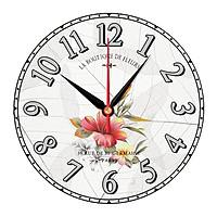 Đồng hồ trang trí hoa cỏ trang nhã DHT-143