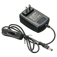 AC 100-240V To DC 12V 1A 12W Power Supply Adapter Switch For Computer LED Strip Light US Plug