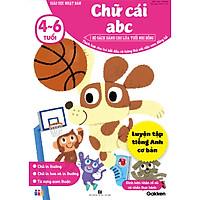 Chữ cái abc (4~6 tuổi) – Giáo dục Nhật Bản – Bộ sách dành cho lứa tuổi nhi đồng – Thích hợp với trẻ đã đọc được tương đối bảng chữ cái ABC