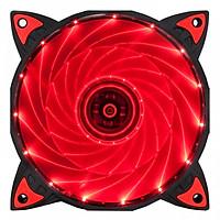 Quạt tản nhiệt Xigmatek X9 RED LED 15 LIGHT Hàng chính hãng