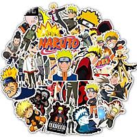 Bộ 50 miếng Sticker hình dán Naruto SetC