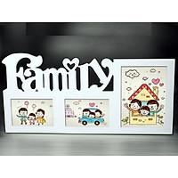 Khung ảnh family 3 ô