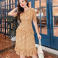 Sale váy tiểu thư tầng size M (hàng mẫu thiết kế)