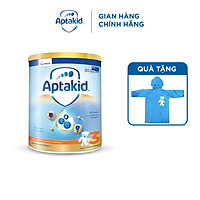 (Tặng áo mưa cho bé) Sữa bột Aptakid New Zealand hộp thiếc (900g) cho bé trên 24 tháng tuổi
