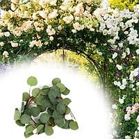 Artificial Eucalyptus leaves Garland Vines Greenery Wedding Wall Decoration