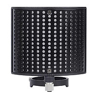 Three Layers  Filter Metal Mesh Foam Layer Microphone Windscreen Cover Handheld Mic Shield Mask Microphone Accessories for Vocal Recording