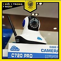 Camera IP Wifi Vitacam giám sát trong nhà C720 Pro full HD 1080P hàng chính hãng