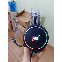 Tai nghe Gnet G09 7.1 cổng usb Led RGB - Hàng chính hãng