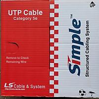 Cáp mạng LS Cat5e (305m/1 thùng)