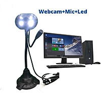 Webcam dùng cho máy tính tích hợp micro đàm thoại