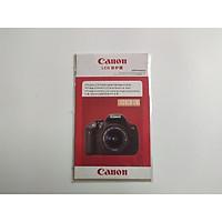 Dán màn hình máy ảnh Mirrorless Canon 70D/ M10/ M5/ M100