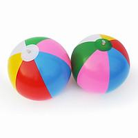 Bộ 2 Bóng chơi bãi biển PVC cho bé 6 màu