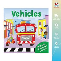 Pop Up Book - Vehicles