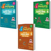 Combo 3 Quyển Cùng Khủng Long Tập Viết Chữ Cơ Bản - Bé Trai