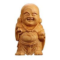 Tượng gỗ gụ Phật di lặc Hộ mệnh