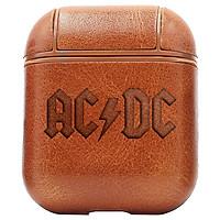 Bao Da Cover Apple Airpods 1 / 2 Premium  Khắc Hình Acdc Rock Band