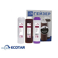 Bộ lõi lọc thay thế cho Geyser Ecotar 3, Geyser Ecotar 6 nhập khẩu nguyên bộ châu Âu đóng thùng carton riêng