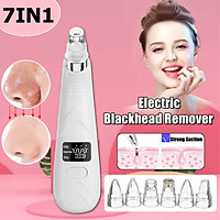 USB Blackhead Vacuum Acne Cleaner Pore Remover Skin Facial Care LCD