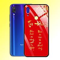 Ốp Lưng Họa Tiết Màu Vàng Ánh Kim cho điện thoại Xiaomi Redmi Note 7 Pro - 0371 8000 TAIDUC02 - Tài Đức - Hàng Chính Hãng