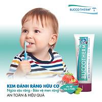 Kem đánh răng hữu cơ trẻ em vị trái cây Buccotherm (dành cho bé từ 3 tuổi) - 50ml