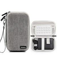Túi bảo vệ ổ cứng di động 2.5, pin dự phòng 10.000 mAh phom cứng F007 Baona - Hàng nhập khẩu