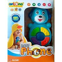 Đồ chơi điện thoại - Baby phone phát nhạc