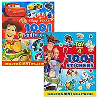 Combo 1001 Stickers Disney Pixar