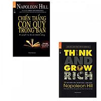 Combo Sách Tuyệt Chiêu Làm Gìau Đỉnh Cao: Chiến Thắng Con Quỷ Trong Bạn + Think And Grow Rich - 13 Nguyên Tắc Nghĩ Giàu Làm Giàu (Tặng kèm bookmark Happy Life)