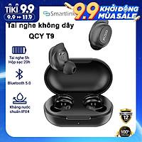 Tai Nghe True Wireless Earbuds QCY T9 Bluetooth V5.0 - Hàng chính hãng